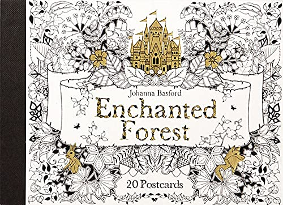 Enchanted Forest: 20 Postcards By Johanna Basford