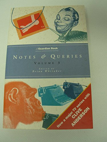 Notes and Queries By Brian Whitaker