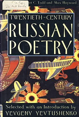 Twentieth Century Russian Poetry By Volume editor Max Hayward