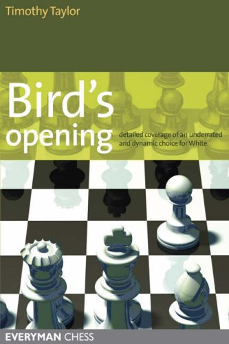 Bird's Opening By Timothy Taylor