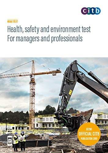 Health, safety and environment test for managers and professionals By safety and environment test for managers and professionals 2019: GT200/19