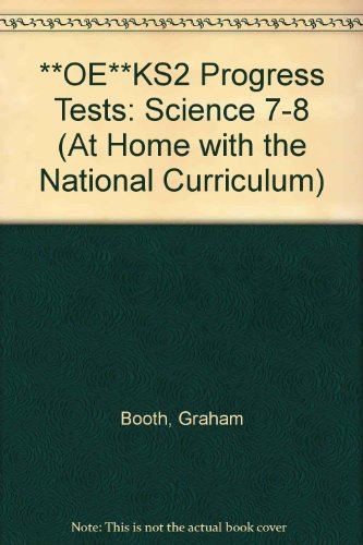 **OE**KS2 Progress Tests: Science 7-8 (At Home wit... by Booth, Graham Paperback
