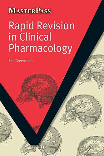 Rapid Revision in Clinical Pharmacology (MasterPass) by Greenstein, Ben Book The