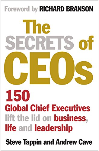 Secrets of CEO'S By Steve Tappin