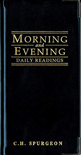 Morning And Evening - Gloss Black By C. H. Spurgeon