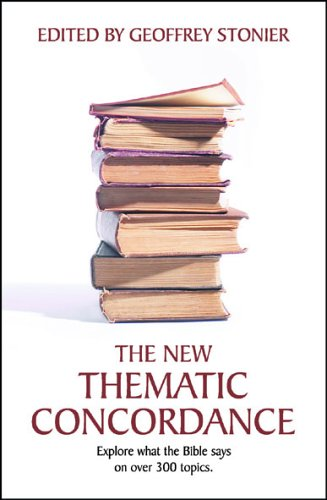 The New Thematic Concordance By Geoffrey Stonier