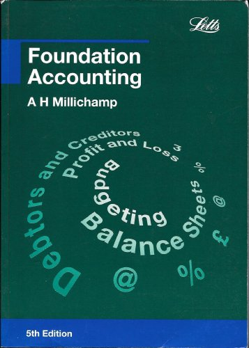 Foundation Accounting By Alan H. Millichamp