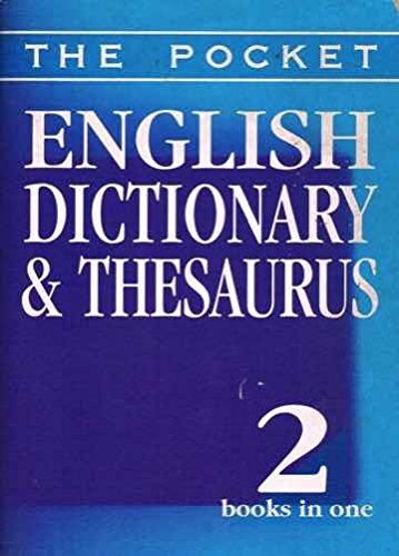 Pocket English Dictionary and Thesaurus by