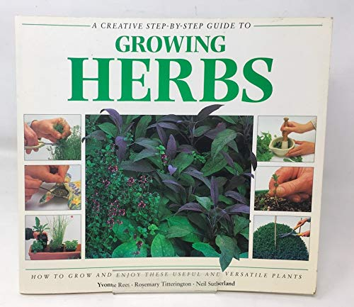 Creative Step by Step Guide to Growing Herbs By Rees