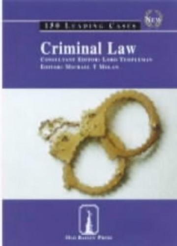 Criminal Law By Michael T. Molan
