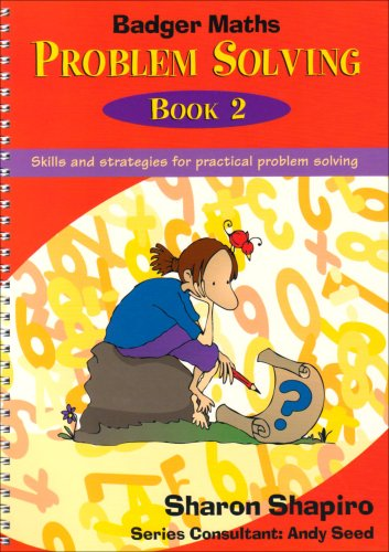 Badger Maths Problem Solving By Sharon Shapiro