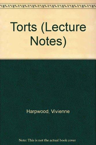 Torts By Vivienne Harpwood