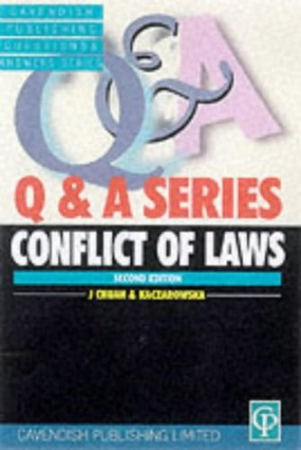 Conflict of Laws Q&A by Richard Holt