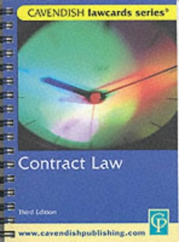 Contract Lawcards by Routledge-Cavendish