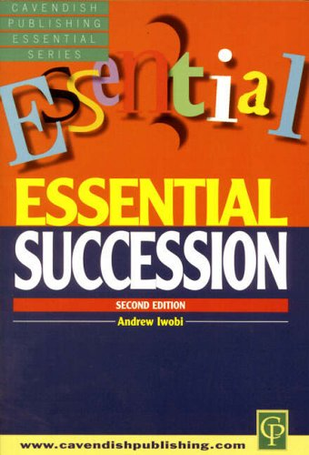 Essential Succession By Andrew Iwobi