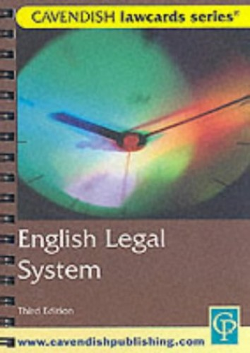English Legal System Lawcards