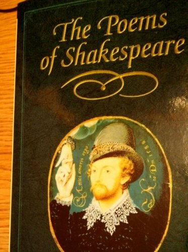 The Poems of Shakespeare By William Shakespeare