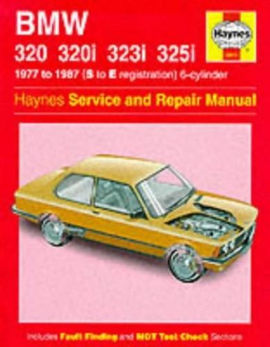B.M.W.3 Series Service and Repair Manual By Peter G. Strasman