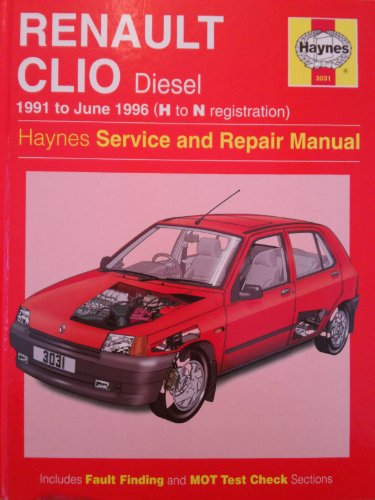 Renault Clio Diesel Service And Repair Manual By A K border=