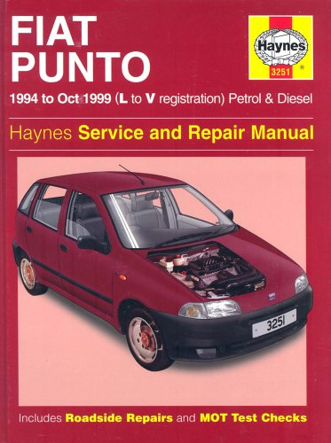 Fiat Punto (1994-1999) Service and Repair Manual by A. K. Legg