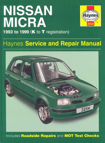 Nissan Micra (1993-99) Service and Repair Manual by A. K. Legg