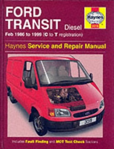 Ford Transit, February 1986 to 1999 (C to T registration) Diesel: Haynes Service and Repair Manuals (Service & repair manuals) By John S. Mead