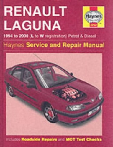 Renault Laguna Petrol & Diesel (94 - 00) L To W By Haynes Publishing