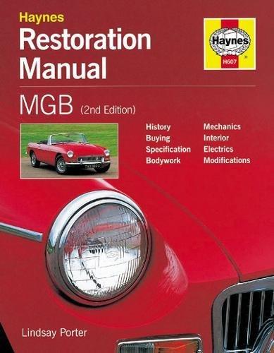 MGB Restoration Manual By Lindsay Porter