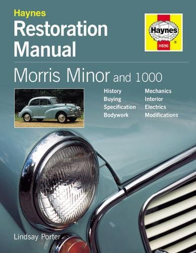 MORRIS MINOR RESTO MANUAL 2ND EDI (Haynes Restoration Manuals) By Lindsay Porter