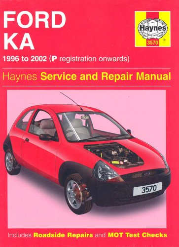 Ford Ka Service and Repair Manual (Haynes Service and Repair Manuals) By A. K. Legg