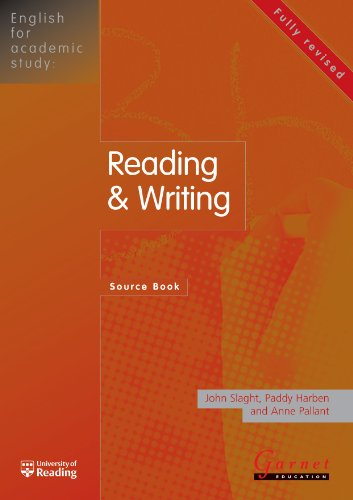 English for Academic Study - Reading and Writing Source Book- Edition 1 By John Slaght
