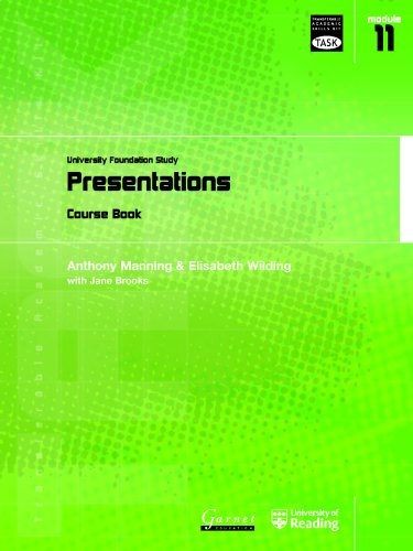 Presentations By Anthony Manning