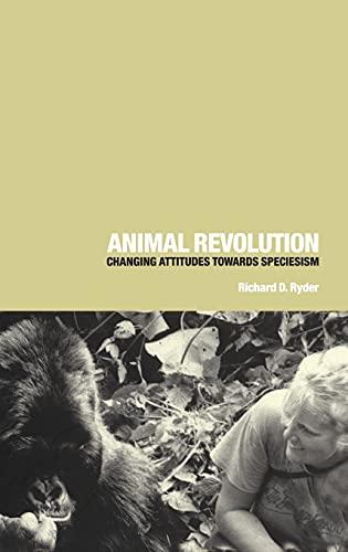 Animal Revolution By Richard D. Ryder