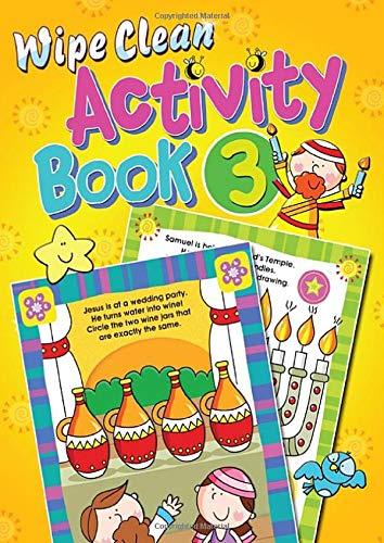 Wipe Clean Activity Book 3 By Juliet David