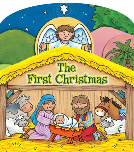 The First Christmas Board Book By Juliet David