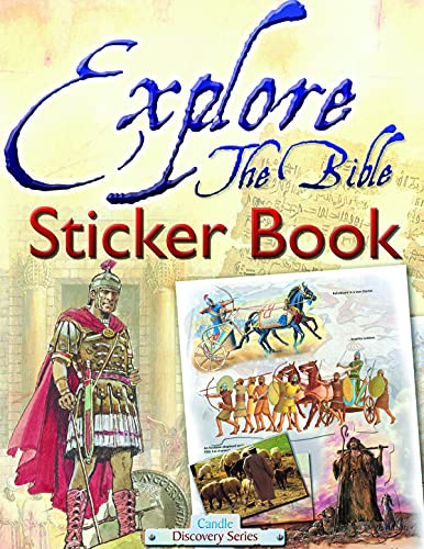 Explore the Bible Sticker Book By Tim Dowley