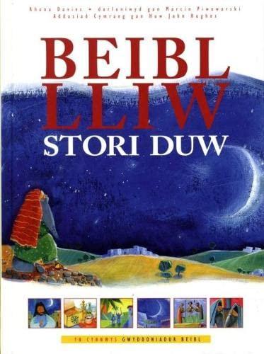 Beibl Lliw Stori Duw By Rhona Davies