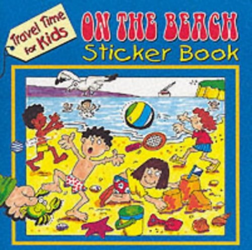 On the Beach Sticker Book by