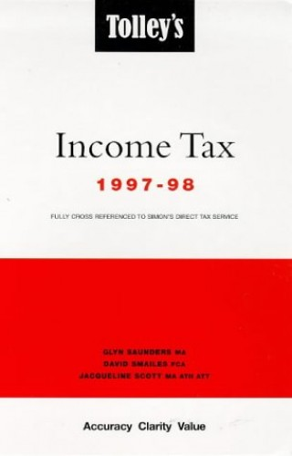 Tolley's Income Tax By Volume editor Glyn Saunders
