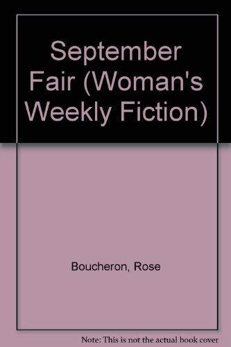 September Fair By Rose Boucheron