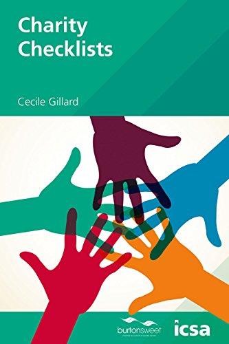 Icsa Charity Checklists PB By Cecile Gillard