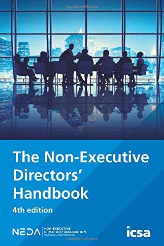 The Non-Executive Directors' Handbook By Brian Coyle