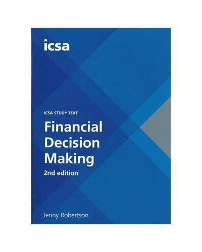 Financial Decision Making 2e PB By John Doe