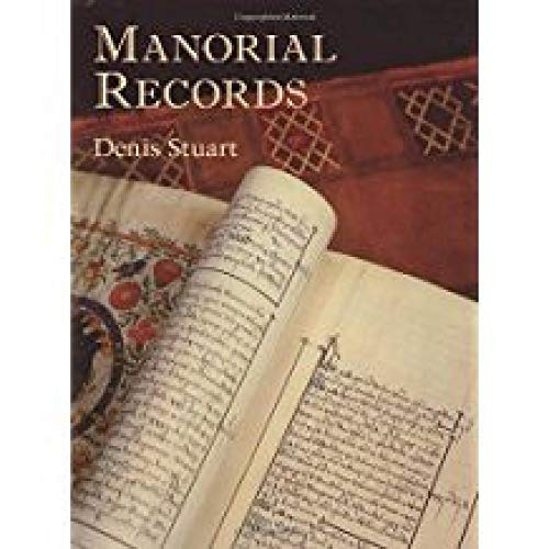 Manorial Records By Denis Stuart