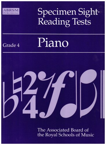 Specimen Sight-reading Tests: Piano: Grade 4 by Alan Ridout