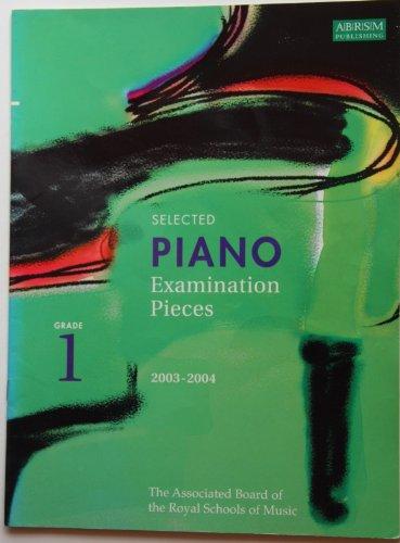 Selected Piano Examination Pieces 2003-2004 By Richard Jones