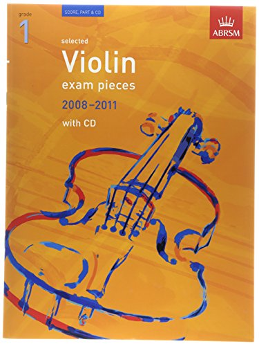 Selected Violin Exam Pieces 2008-2011, Grade 1, Score, Part & CD By Edward Huws Jones