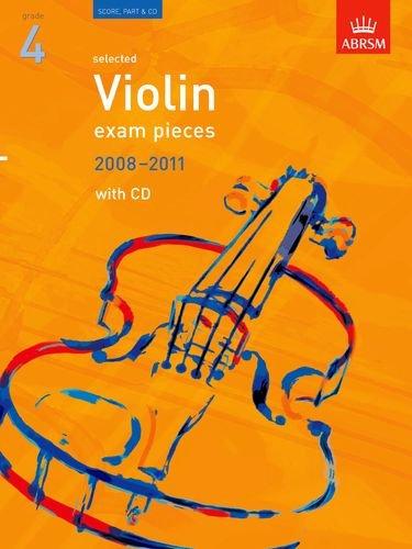Selected Violin Exam Pieces 2008-2011, Grade 4, Score, Part & CD By Edward Huws Jones