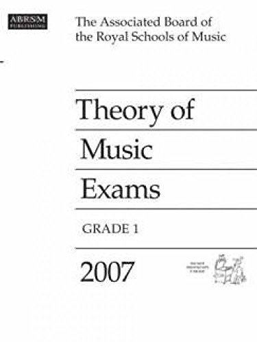 Theory of Music Exams, Grade 1, 2007 By ABRSM