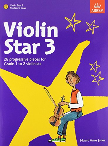 Violin Star 3, Student's book, with CD By Edward Huws Jones